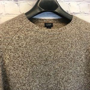 J Crew Men's Lambs Wool Sweater